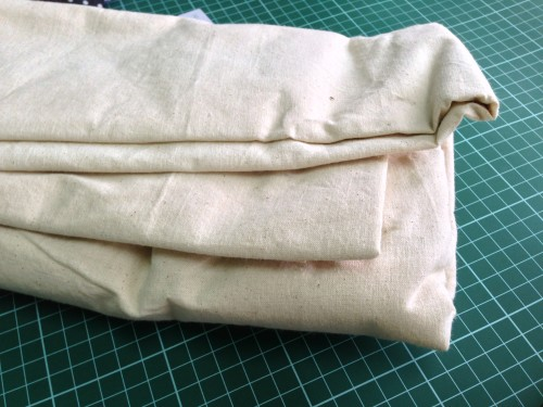 Fabric for plain totes - natural unbleached cotton