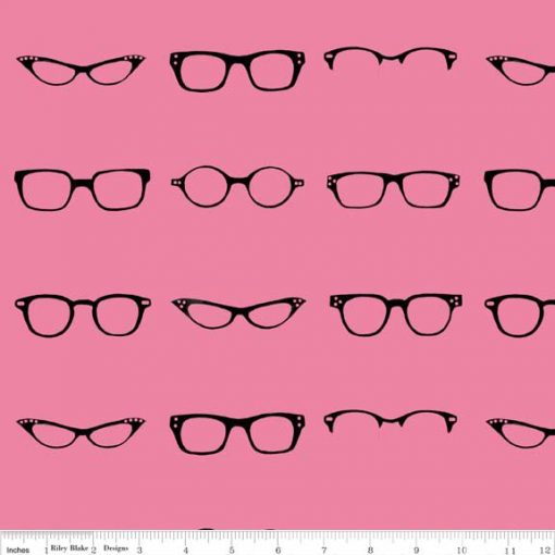 (Amy Adams) Geekly Chic, Geekly Glasses in Hot Pink Amy Adams C512-01 HOT PINK 1