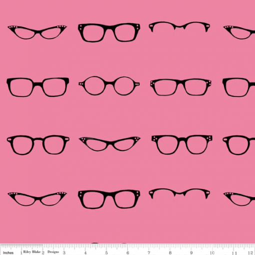 (Amy Adams) Geekly Chic, Geekly Glasses in Hot Pink 1
