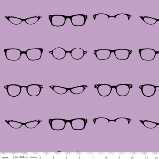 (Amy Adams) Geekly Chic, Geekly Glasses in Lavender 1