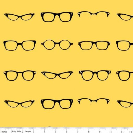 (Amy Adams) Geekly Chic, Geekly Glasses in Yellow Amy Adams C512-02 YELLOW 1