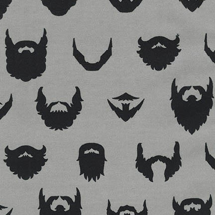 (Caleb Gray) Brilliant Beards, Brilliant Beards In Grey 1