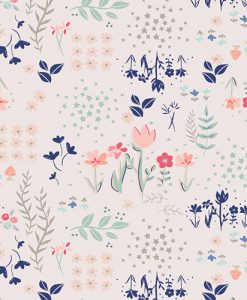 (Amy Sinibaldi) Paperie, Library Gardens in Light Pink