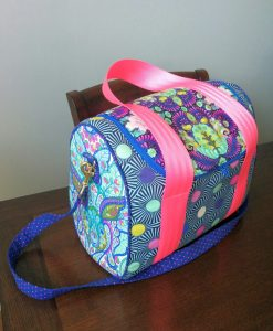 Slow and Steady by Tula Pink - FQ Bundle in Blue Raspberry 7