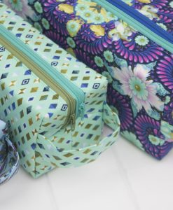 Slow and Steady by Tula Pink - FQ Bundle in Blue Raspberry 6