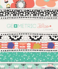 (Jeni Baker) Geometric Bliss, Radical Blooms in Blush Jeni Baker GBL-2430 6