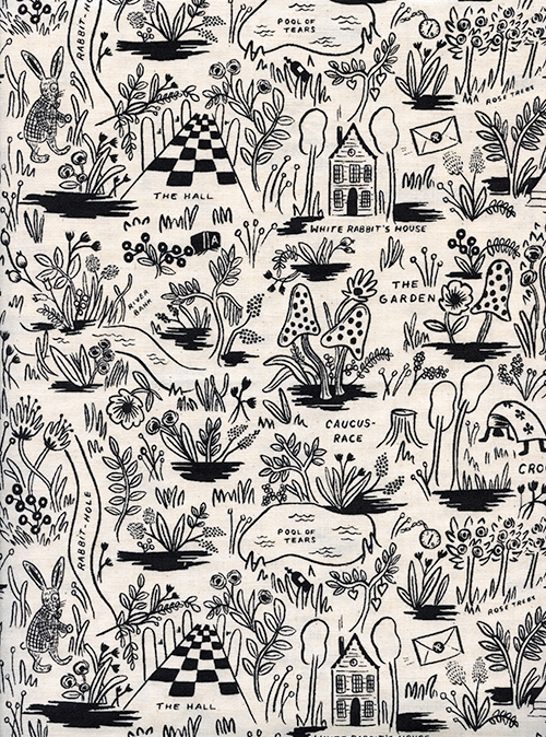(Rifle Paper Co) Wonderland, Magic Forest in Neutral Rifle Paper Co. 8017-01 1