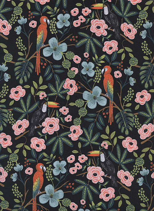 (Rifle Paper Co) Menagerie, Paradise Garden in Midnight Rifle Paper Co. 8028-01 1