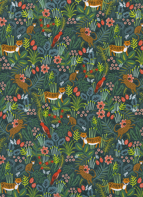 (Rifle Paper Co) Menagerie, Jungle in Hunter Rifle Paper Co. 8029-01 1