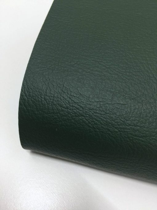 PVC Leather in Army Green 2