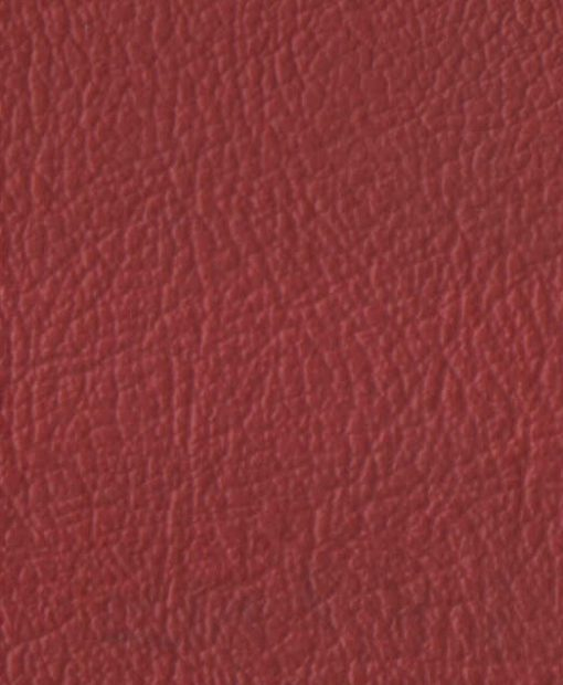 PVC Leather in Crimson Red 1