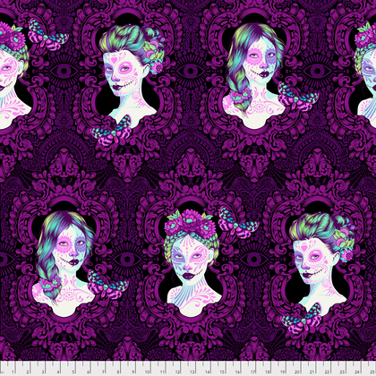 (Tula Pink) De La Luna, Possessed in Clairvoyant Tula Pink PWTP110.CLAIR 1