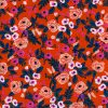 (Rifle Paper Co) Wonderland Rayon, Paint Roses Rayon in Orange
