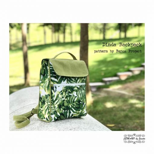 Dinda Backpack by Perca Project - PDF Pattern 2