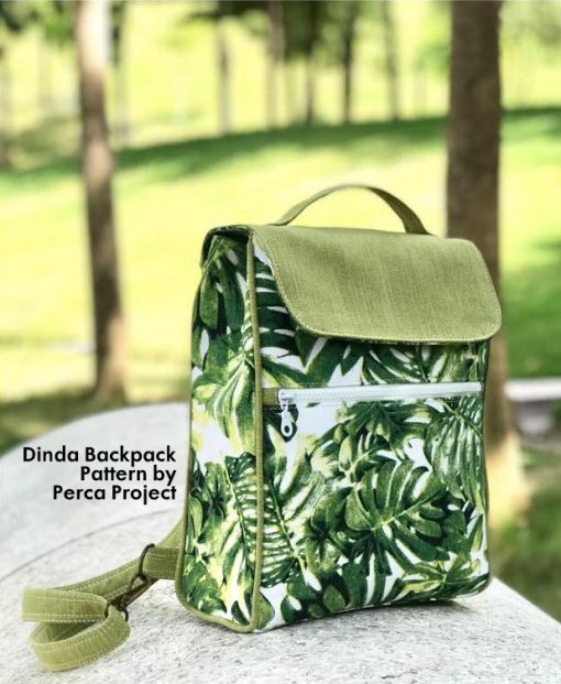 Dinda Backpack by Perca Project - PDF Pattern 1