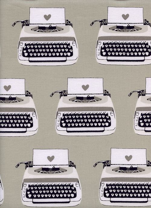 (Cotton and Steel) Black and White, Type Writers in Black and White 1