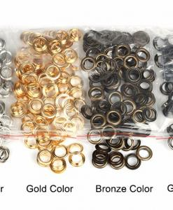 "Eyelets 20mm (3/4"") in Bronze - 10 sets 4"