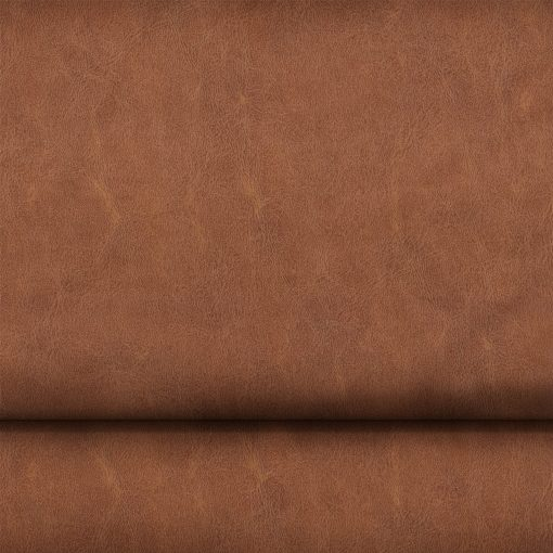 Washed Finish Faux PVC Leather in Brown x Half Meter Shambijoux LEAT-PVC-SBROWN 1