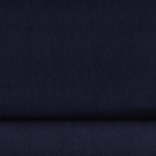 Washed Finish Faux PVC Leather in Navy x Half Meter 1