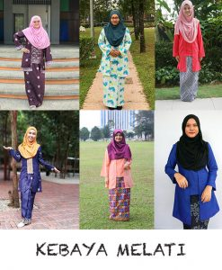 Kebaya Melati Adult – PDF Pattern (by Haurra Sewing)
