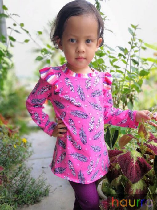 Orked Ruffle Top – PDF Pattern (by Haurra Sewing)