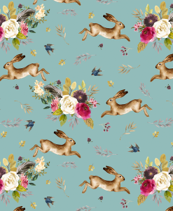 (Shopcabin) Autumn Bunnies, Large Autumn Bunnies in Pool