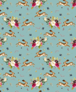(Shopcabin) Autumn Bunnies, Small Autumn Bunnies in Pool