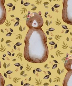 (Shopcabin) Autumn Woodland, Autumn Bear in Honey