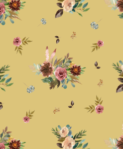 (Shopcabin) Autumn Woodland, Fall Floral in Honey