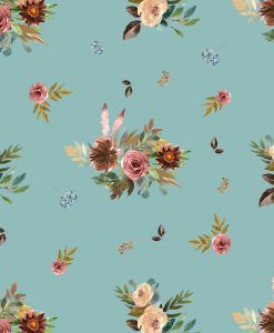 (Shopcabin) Autumn Woodland, Fall Floral in Pool