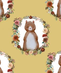 (Shopcabin) Autumn Woodland, Woodland Bear in Honey