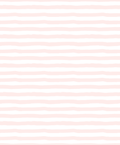 (Shopcabin) Blush Blooms, Painted Stripes in Soft Blush