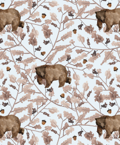 (Shopcabin) Floral Trail Bear, Walk Through the Woods in Ice