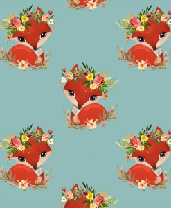 (Shopcabin) September Blooms, Foxy in Pool