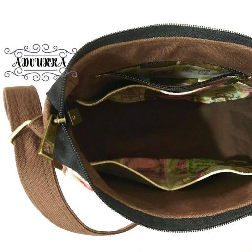 Ellie Sling Bag by Adourra – PDF Pattern + Video 4