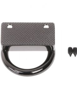 Metal Strap Connector, With D-Ring Style1 in Gun Black 7