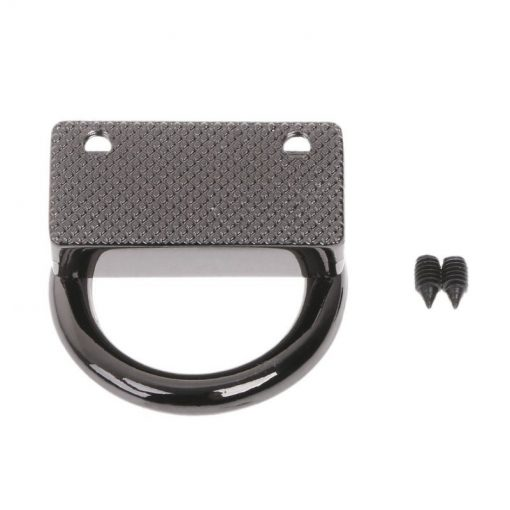 Metal Strap Connector, With D-Ring Style1 in Gun Black 4