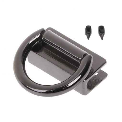 Metal Strap Connector, With D-Ring Style1 in Gun Black 3