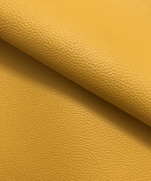 PVC Leather in Mustard Yellow 0.65 mm thickness Shambijoux PVC1-6502-2523 1
