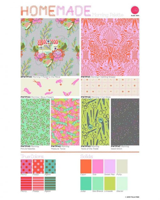 HomeMade Fat Quarter Bundle by Tula Pink Tula Pink FB2FQTP.HOMEMADE 1