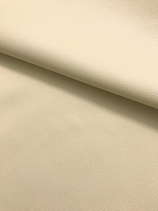 PVC Leather in Light Beige 0.65 mm thickness 1