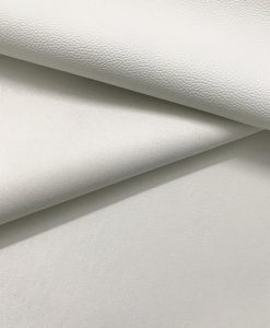 PVC Leather in White 0.65 mm thickness 3