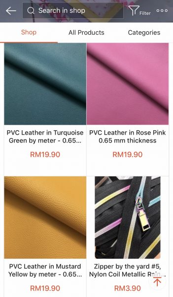 PVC Leather in Mustard Yellow 0.65 mm thickness photo review