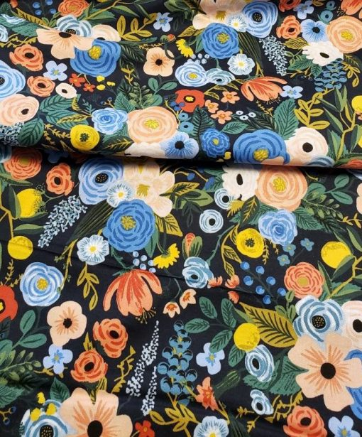 (Rifle Paper Co) Wildwood, Garden Party in Navy Rifle Paper Co. RP100-NA2 3