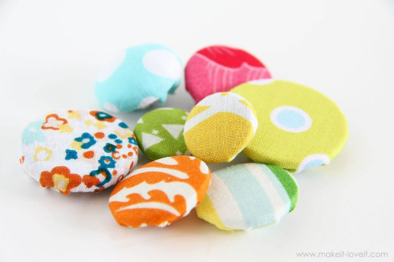 Making Cover Buttons (without a kit) by Make It and Love It