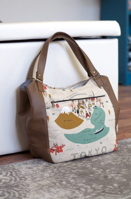 Celine Zip Top Tote - PDF Pattern (by Swoon Patterns) Swoon 2